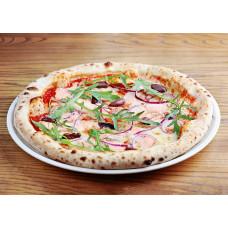 Піца з лососем і руколою